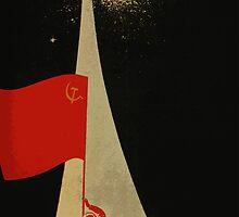 all the way up to the stars  - soviet union propaganda by SofiaYoushi