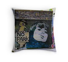 Melbourne Graffiti - Fitzroy IV Throw Pillow