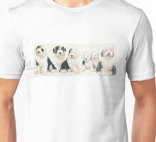 Old English Sheepdog Puppies Unisex T-Shirt