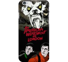 stay off the moors! iPhone Case/Skin
