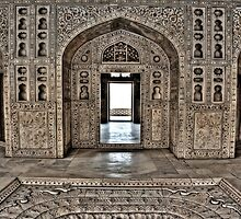 The perfect symmetry of moghul architecture by Sundar Singh