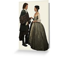Outlander - Claire x Jamie Greeting Card