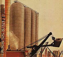 Building our future  - soviet union propaganda poster  by SofiaYoushi