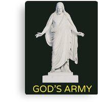God's Army  Canvas Print