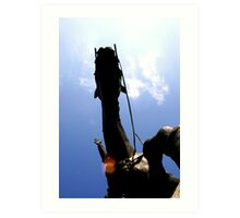 Don Quixote de la Mancha! Art Print