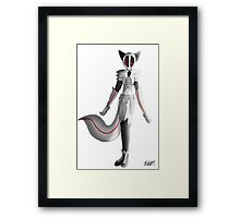Anthro Fox Robot Framed Print