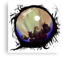 Bard - League of Legends Canvas Print