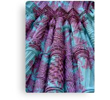 Stable as those Pillars Canvas Print