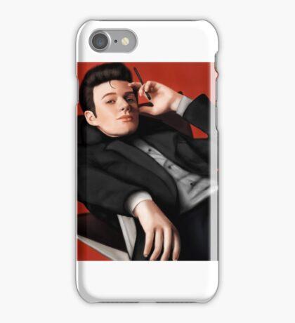 Chris Colfer as Noel Coward iPhone Case/Skin