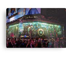 Avengers on Broadway. Metal Print