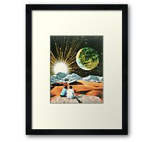 Another Earth Framed Print