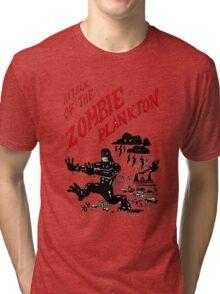 Zombie Plankton Tri-blend T-Shirt