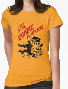 Zombie Plankton Womens Fitted T-Shirt