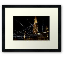 In the right light, at the right time, everything is extraordinary. Framed Print
