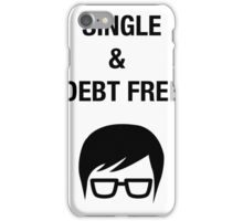 humor clever funny hipster sarcasm shirt iPhone Case/Skin