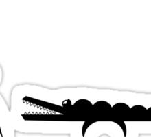 Crocodile Dandy... Sticker