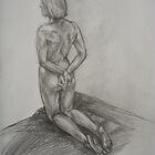 Kneeled by Anastasia Zabrodina