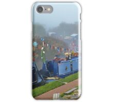 Sunday Morning At The Narrow Boat Festival iPhone Case/Skin