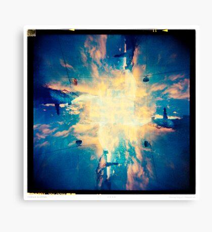 Thrice Flipped Canvas Print