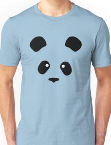Giant Panda face less black patches Unisex T-Shirt