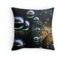 Invisible City Throw Pillow