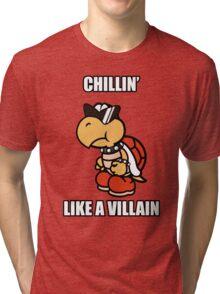 Chillin' Like a Villain Koopa Troopa Tri-blend T-Shirt