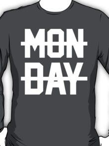 inspired MONDAY design T-Shirt