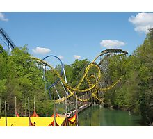 Alpengeist, Busch Gardens Williamsburg Photographic Print