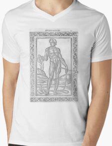 16th Century Anatomy Mens V-Neck T-Shirt