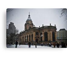 Birmingham Cathedral Canvas Print