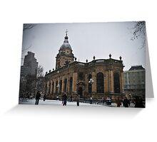 Birmingham Cathedral Greeting Card
