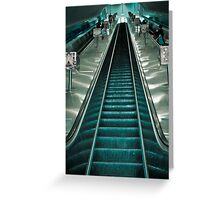 Going up or going down? Greeting Card