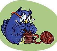 owl knits by Kopfzirkus
