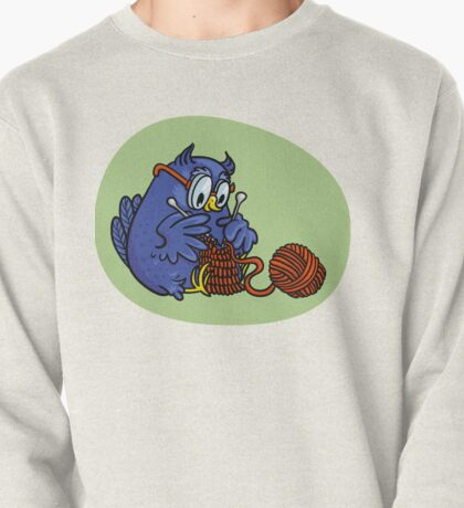 owl knits Pullover
