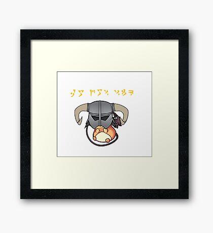 QO DOV VIIK! Framed Print