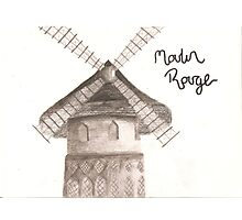 moulin Photographic Print