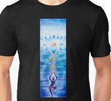 Meditating Lotus Unisex T-Shirt