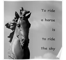 To Ride The Sky Poster
