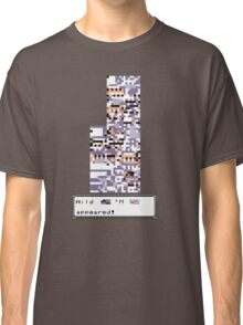 Wild MISSINGNO Appeared! Classic T-Shirt