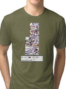 Wild MISSINGNO Appeared! Tri-blend T-Shirt