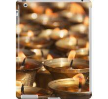Candles in Kathmandu iPad Case/Skin
