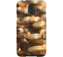 Candles in Kathmandu Samsung Galaxy Case/Skin