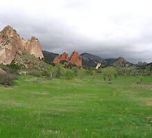Field, Garden of the Gods, Colorado Springs, CO 2009 by J.D. Grubb