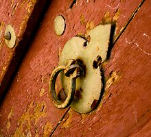 Weathered Door by Hena Tayeb
