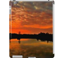 An Orange Peel Sky iPad Case/Skin