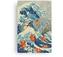 The Great Wave off Kanto Canvas Print