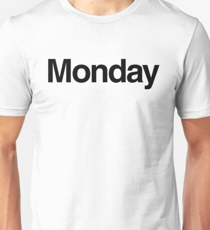 The Week - Monday Unisex T-Shirt