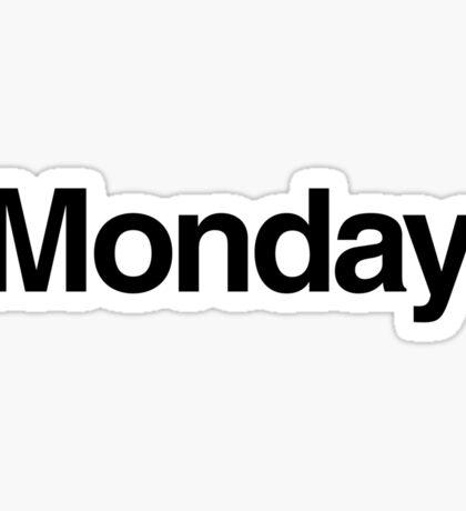 The Week - Monday Sticker