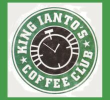 King Ianto's Coffee Club Kids Tee