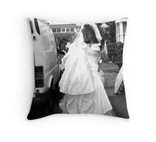Eastend wedding Throw Pillow